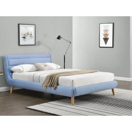 Кровать HALMAR ELANDA синий 160
