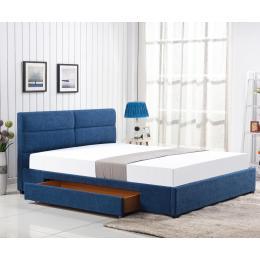 Кровать HALMAR MERIDA синий 160