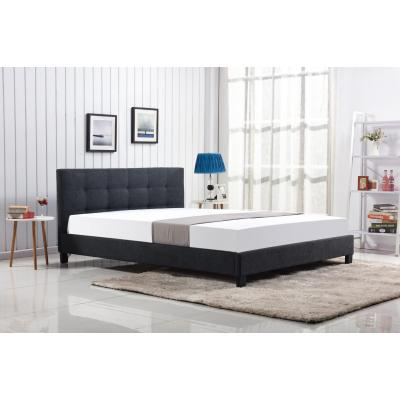 Кровать HALMAR OXFORD темно-серый 160