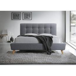 Кровать SIGNAL SEVILLA серая 140