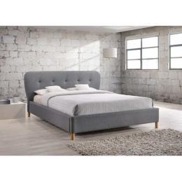 Кровать SIGNAL BELLA серая