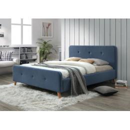 Кровать SIGNAL MALMO деним 160