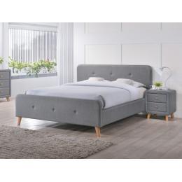 Кровать SIGNAL MALMO серая 180
