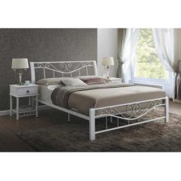 Кровать SIGNAL PARMA белая 160
