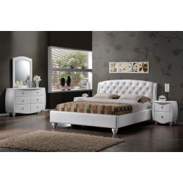 Кровать SIGNAL POTENZA белая